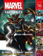 Marvel Fact Files #16 Eaglemoss Publications